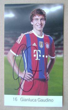 Gianluca Gaudino autograph
