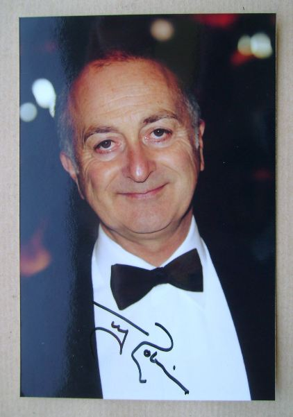 Tony Robinson autographed photo