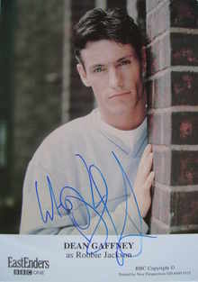 Dean Gaffney autograph (ex EastEnders actor)