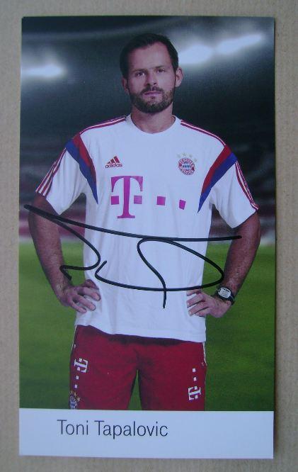 Toni Tapalovic autograph