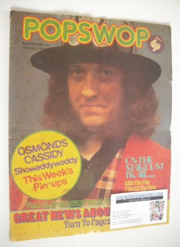 <!--1974-09-21-->Popswop magazine - 21 September 1974 - Noddy Holder cover