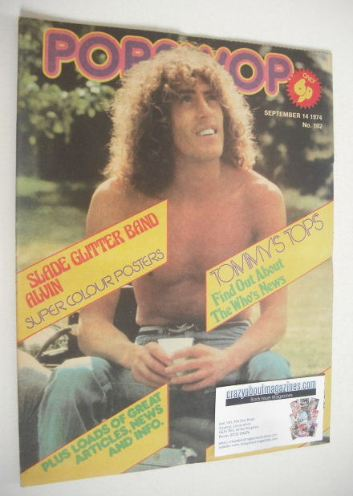 <!--1974-09-14-->Popswop magazine - 14 September 1974 - Roger Daltrey cover