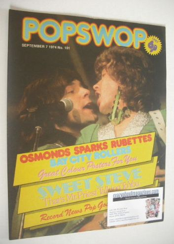 <!--1974-09-07-->Popswop magazine - 7 September 1974 - Mud cover