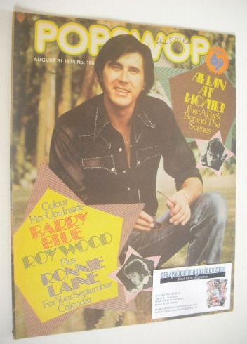<!--1974-08-31-->Popswop magazine - 31 August 1974 - Bryan Ferry cover