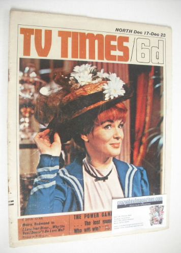 <!--1966-12-17-->TV Times magazine - Moira Redmond cover (17-23 December 19