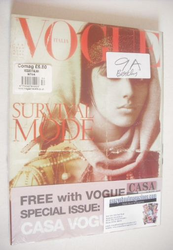 <!--2009-04-->Vogue Italia magazine - April 2009 - Eliza Cummings cover