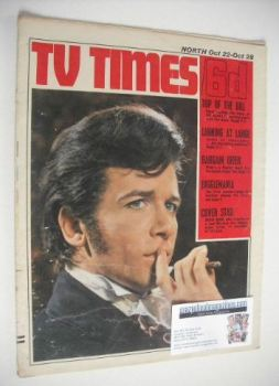 TV Times magazine - David Buck cover (22-28 October 1966)