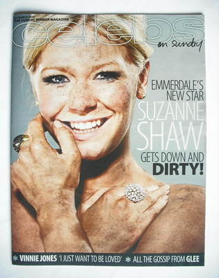<!--2010-03-21-->Celebs magazine - Suzanne Shaw cover (21 March 2010)
