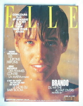 French Elle magazine - 13 August 1990