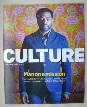 Culture magazine - Chiwetel Ejiofor cover (5 January 2014)