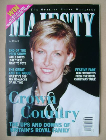 <!--1999-12-->Majesty magazine - December 1999 (Volume 20 No 12)
