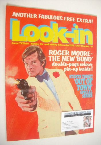 <!--1972-11-04-->Look In magazine - Roger Moore cover (4 November 1972)