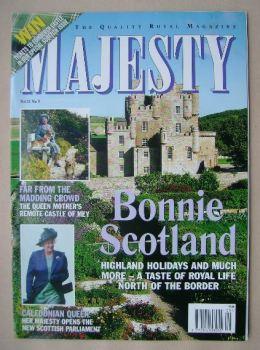 Majesty magazine - September 1999 (Volume 20 No 9)