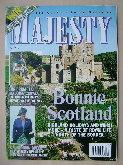 <!--1999-09-->Majesty magazine - September 1999 (Volume 20 No 9)