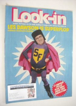 <!--1972-08-12-->Look In magazine - Les Dawson cover (12 August 1972)