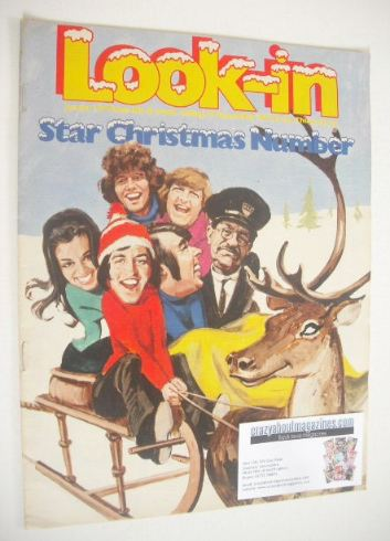 <!--1971-12-25-->Look In magazine - Star Christmas Issue (25 December 1971)