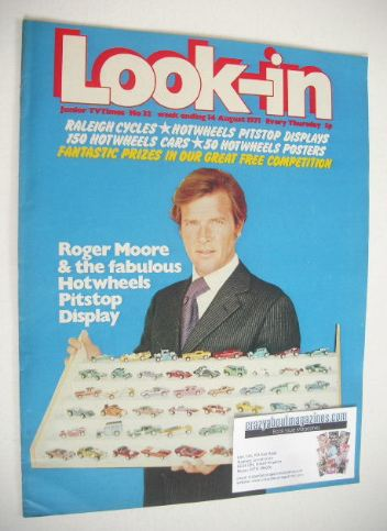 <!--1971-08-14-->Look In magazine - Roger Moore cover (14 August 1971)