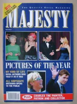 Majesty magazine - Pictures Of The Year cover (January 1999 - Volume 20 No 1)