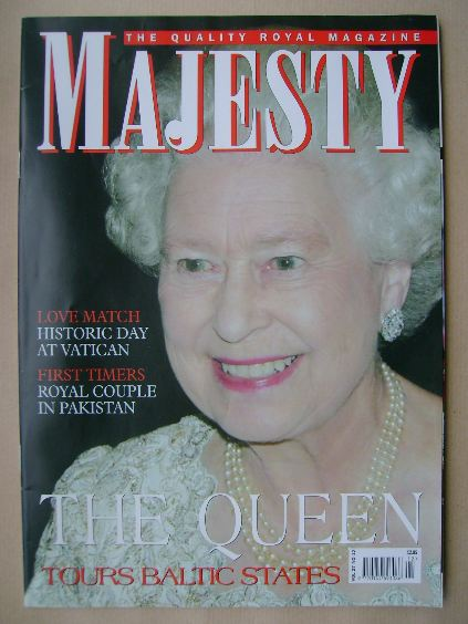 <!--2006-12-->Majesty magazine - The Queen cover (December 2006 - Volume 27