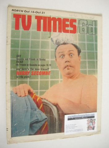 <!--1966-10-15-->TV Times magazine - Harry Secombe cover (15-21 October 196