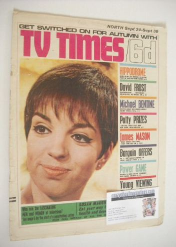 <!--1966-09-24-->TV Times magazine - Liza Minnelli cover (24-30 September 1