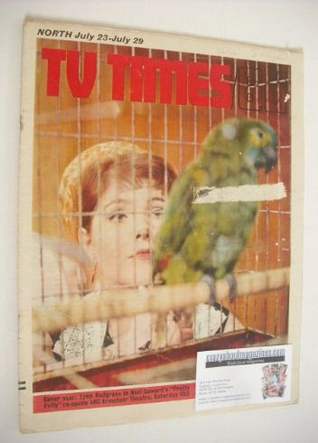 <!--1966-07-23-->TV Times magazine - Lynn Redgrave cover (23-29 July 1966)