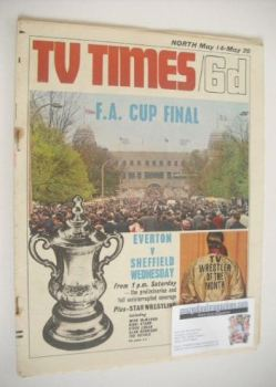 TV Times magazine - F.A. Cup Final cover (14-20 May 1966)