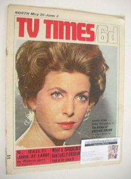 TV Times magazine - Billie Whitelaw cover (28 May - 3 June 1966)