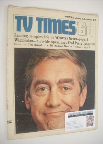 <!--1966-06-18-->TV Times magazine - Tony Hancock cover (18-24 June 1966)
