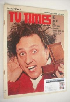 <!--1968-01-20-->TV Times magazine - Ken Dodd cover (20-26 January 1968)