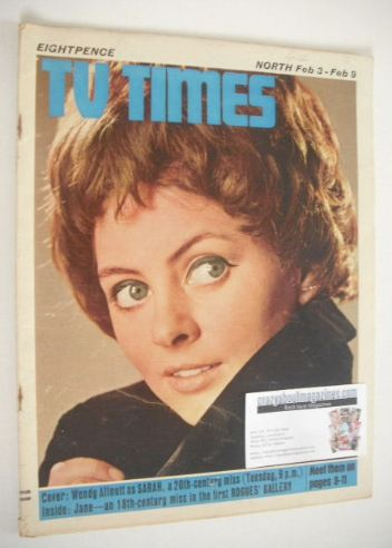 <!--1968-02-03-->TV Times magazine - Wendy Allnutt cover (3-9 February 1968
