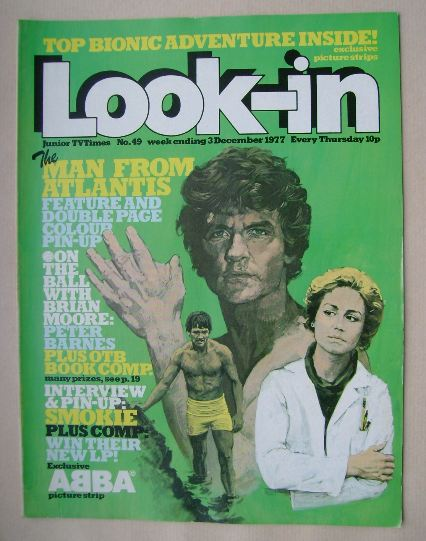 <!--1977-12-03-->Look In magazine - The Man From Atlantis cover (3 December