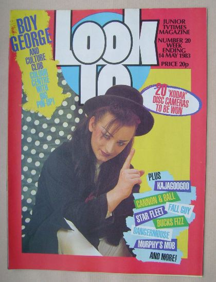 <!--1983-05-14-->Look In magazine - Boy George cover (14 May 1983)