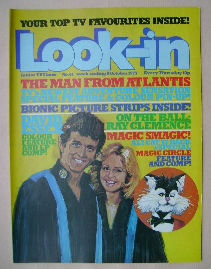 <!--1977-10-08-->Look In magazine - The Man From Atlantis cover (8 October