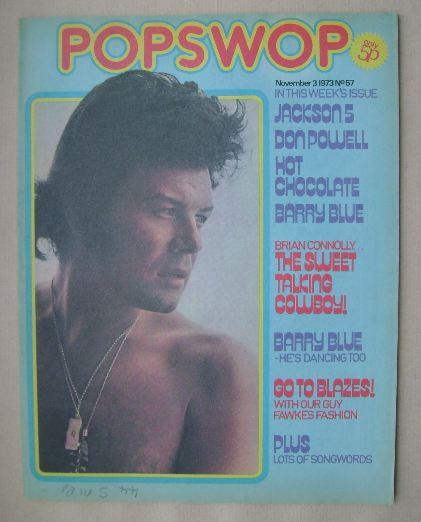 <!--1973-11-03-->Popswop magazine - 3 November 1973 - Gary Glitter cover
