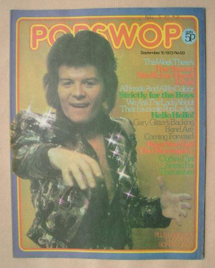 <!--1973-09-15-->Popswop magazine - 15 September 1973 - Gary Glitter cover
