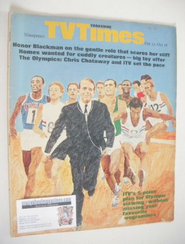<!--1968-10-12-->TV Times magazine - Olympic cover (12-18 October 1968)