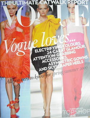 British Vogue supplement - The Ultimate Catwalk Report (2009)