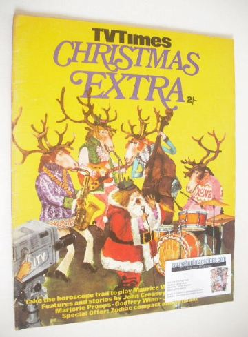 <!--1968-12-25-->TV Times magazine - Christmas Extra cover (Xmas 1968)