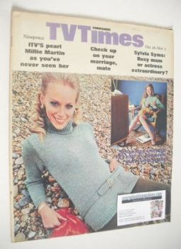 TV Times magazine - Seven-Day Sweater cover (26 October - 1 November 1968)