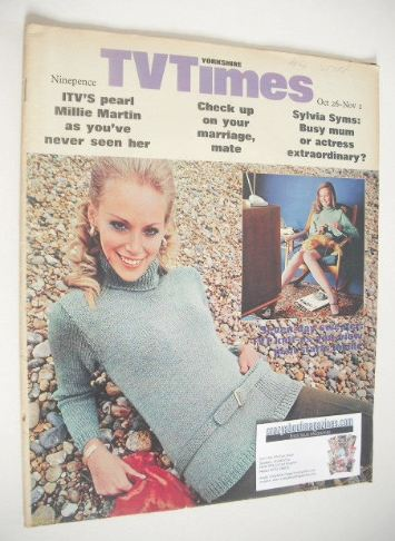 <!--1968-10-26-->TV Times magazine - Seven-Day Sweater cover (26 October -