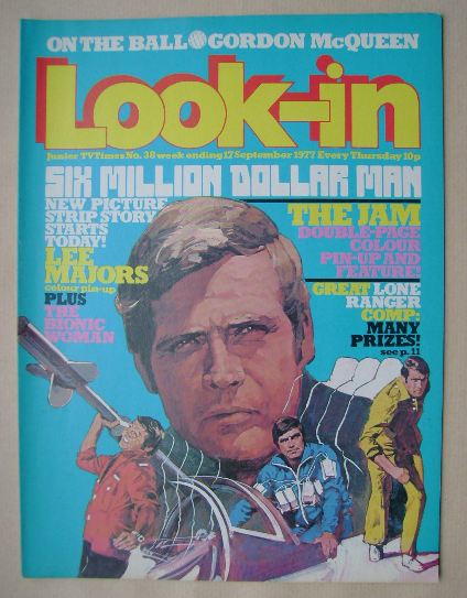 <!--1977-09-17-->Look In magazine - Lee Majors cover (17 September 1977)