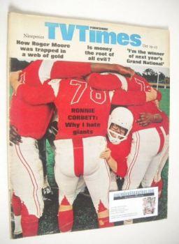TV Times magazine - Ronnie Corbett cover (19-25 October 1968)