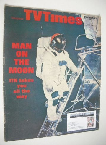 <!--1969-07-19-->TV Times magazine - Man On The Moon cover (19-25 July 1969
