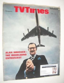 TV Times magazine - Alan Whicker cover (5-11 July 1969)