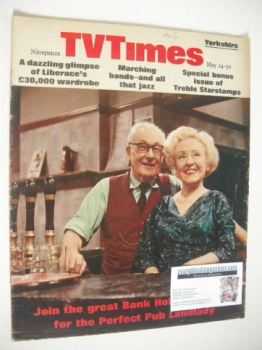 TV Times magazine - Arthur Leslie and Doris Speed cover (24-30 May 1969)