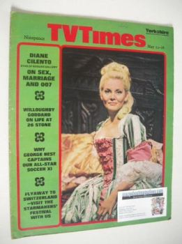 TV Times magazine - Diane Cilento cover (10-16 May 1969)