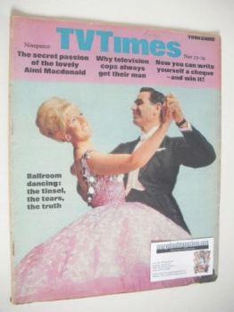 TV Times magazine - Ballroom Dancing cover (23-29 November 1968)