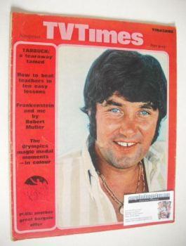 TV Times magazine - Jimmy Tarbuck cover (9-15 November 1968)