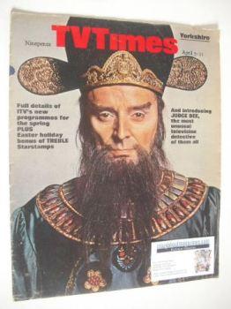TV Times magazine - Judge Dee cover (5-11 April 1969)